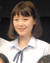 舞台『転校生』公開ゲネプロ後囲み取材に出席した多賀麻美 (C)ORICON NewS inc.