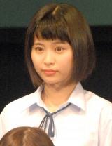 舞台『転校生』公開ゲネプロ後囲み取材に出席した藤松祥子 (C)ORICON NewS inc.