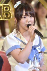2年ぶり総選挙で18位にランクインしたSKE48・松村香織(写真:島袋常貴)
