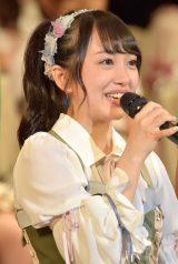 17位にランクインしたAKB48・向井地美音(写真:島袋常貴)