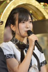 「結婚します」と宣言したNMB48・須藤凜々花(写真:島袋常貴)