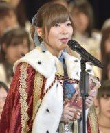 史上初の3連覇を達成したHKT48・指原莉乃 写真:島袋常貴