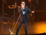 アルバム『POP 'N' ROOL』リリース記念ライブを行ったF-BLOOD (C)ORICON NewS inc.