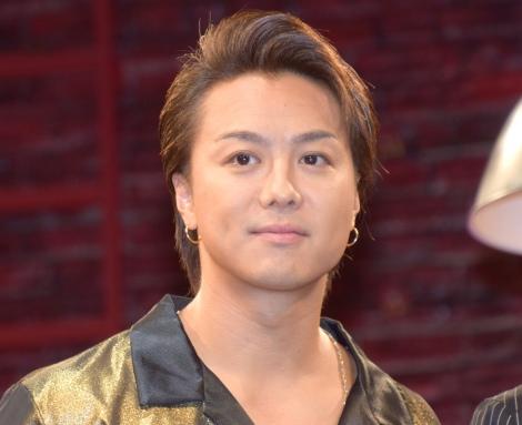 共演者から舞台センスを絶賛されたTAKAHIRO=舞台『MOJO』の囲み取材 (C)ORICON NewS inc.