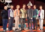(左から)青木豪氏、尾上寛之、木村了、TAKAHIRO、波岡一喜、味方良介、横田龍儀 (C)ORICON NewS inc.
