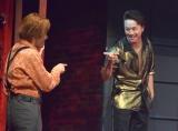 (左から)木村了、TAKAHIRO=舞台『MOJO』ゲネプロの模様 (C)ORICON NewS inc.