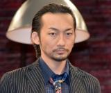 舞台『MOJO』の囲み取材に出席した波岡一喜