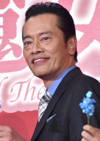 映画『メアリと魔女の花』のスペシャルトークイベントに出席した遠藤憲一 (C)ORICON NewS inc.