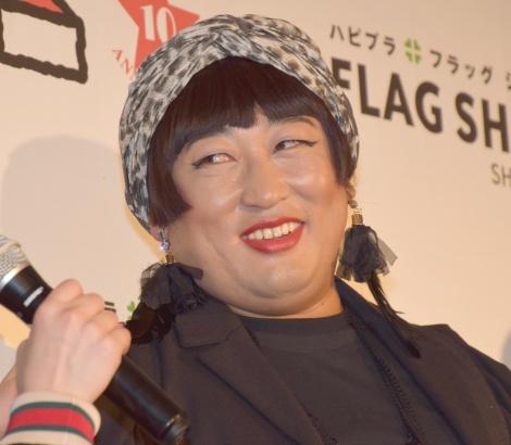 ファッション通販サイト『FLAG SHOP』の10周年記念パーティーに出席したロバート・秋山竜次 (C)ORICON NewS inc.