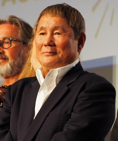 『フランス映画祭2017』のオープニングセレモニーに出席した北野武 (C)ORICON NewS inc.