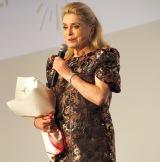 『フランス映画祭2017』のオープニングセレモニーに出席したカトリーヌ・ドヌーヴ (C)ORICON NewS inc.