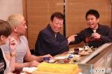 23日放送のフジテレビ系バラエティ番組『ダウンタウンなう』(毎週木曜 後9:55)に出演する(左から)松本人志、橋幸夫、浜田雅功c