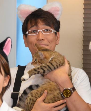 フジテレビ系『爆笑問題の超!ネコ学 猫、知ってるつもり?』の会見に出席した古坂大魔王 (C)ORICON NewS inc.
