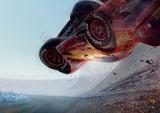 『となりのトトロ』のあるシーンをお手本とした、衝撃のクラッシュシーン。『カーズ/クロスロード』は7月15日公開 (C)2017 Disney/Pixar. All Rights Reserved.