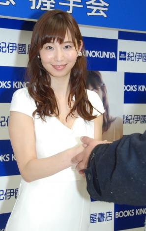 この日はファン約500人と握手=1st写真集『みすみ』発売記念イベント (C)ORICON NewS inc.