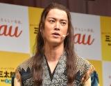 新CMでアドリブを披露したことを明かした桐谷健太 (C)ORICON NewS inc.