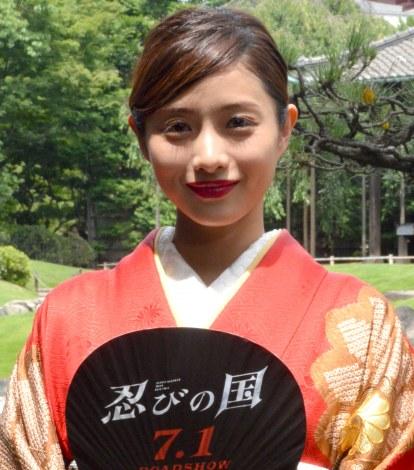 映画『忍びの国』大ヒット祈願イベントに出席した石原さとみ (C)ORICON NewS inc.