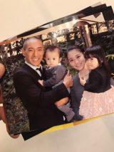 市川海老蔵がブログで公開した麻央さんとの家族写真
