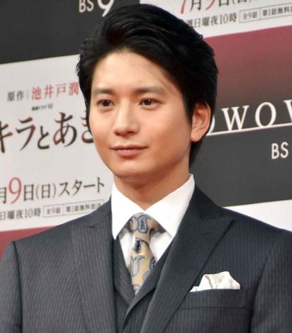 WOWOWの『連続ドラマW アキラとあきら』試写会に出席した向井理 (C)ORICON NewS inc.