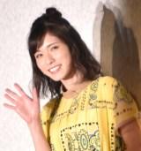 『カーズ/クロスロード』の新車発表会見に出席した松岡茉優 (C)ORICON NewS inc.