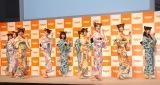 乃木夏ダンスを披露した乃木坂46 (C)ORICON NewS inc.