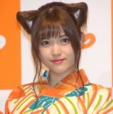『じゃらん』の新CM発表会に参加した乃木坂46・松村沙友理 (C)ORICON NewS inc.