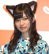 『じゃらん』の新CM発表会に参加した乃木坂46・寺田蘭世 (C)ORICON NewS inc.