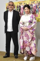 (左から)井筒和幸監督、森昌子 (C)ORICON NewS inc.