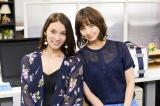 読売テレビ・日本テレビ系連続ドラマ『脳にスマホが埋められた!』に出演する(左から)秋元才加、篠田麻里子