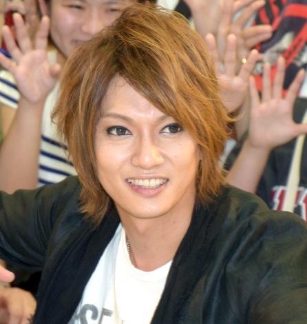 新曲「出逢って8秒」を初披露する『8秒フリーライブ』を開催したゴールデンボンバー喜矢武豊 (C)ORICON NewS inc.