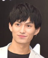 Abema TV『真夏のオオカミくんには騙されない』の制作発表会見に参加した松田凌