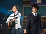 小田和正(左)、上川隆也(右)が主演するテレビ朝日系ドラマ『遺留捜査』(7月13日スタート)主題歌を書き下ろし
