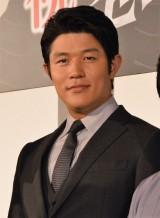 映画『忍びの国』初日舞台あいさつに出席した鈴木亮平 (C)ORICON NewS inc.