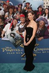 映画『パイレーツ・オブ・カリビアン/最後の海賊』5月にLAプレミアに参加した時のカヤ・スコデラリオ(C)2017 Disney Enterprises, Inc. All Rights Reserved.