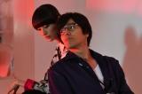 TBS系連続ドラマ『カンナさーん』(毎週火曜 10:00)に出演する(左から)シシド・カフカ、要潤 (C)TBS