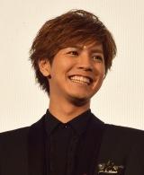 映画『兄に愛されすぎて困ってます』の初日舞台あいさつに出席した片寄涼太 (C)ORICON NewS inc.