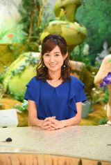 『ちちんぷいぷい』の水曜アシスタントを務める豊崎由里絵アナウンサー