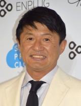 「サガシキ」の新事業『Social Print Cloud』発表会に出席した武田修宏 (C)ORICON NewS inc.