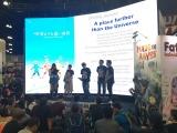 『宇宙よりも遠い場所』製作発表ステージ (c)YORIMOI