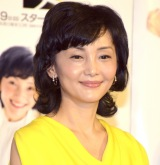 NHK BSプレミアムのドラマ『定年女子』の会見に参加した南果歩 (C)ORICON NewS inc.