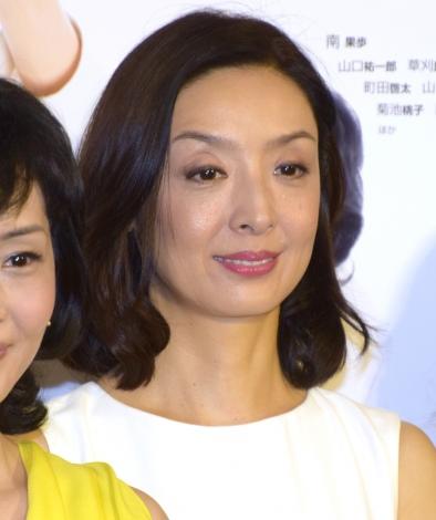 NHK BSプレミアムのドラマ『定年女子』の会見に参加した草刈民代 (C)ORICON NewS inc.