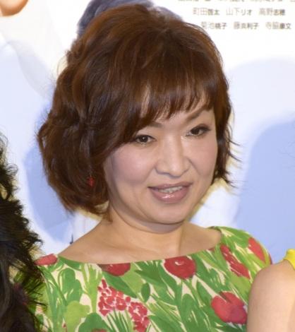 NHK BSプレミアムのドラマ『定年女子』の会見に参加した清水ミチコ (C)ORICON NewS inc.