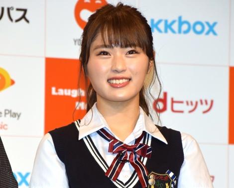 『Laugh&Peace MUSIC』記者会見に出席したNMB48・渋谷凪咲 (C)ORICON NewS inc.