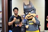 映画『DCスーパーヒーローズvs鷹の爪団』でバットマンの声優を務める山田孝之