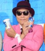 『氷結 ICEBOXスタンド』のオープニングイベントに出席したサバンナの八木真澄 (C)ORICON NewS inc.