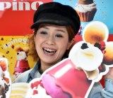『pinofondue cafe』オープニング記念セレモニーに出席した尼神インター・渚 (C)ORICON NewS inc.