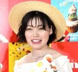 『pinofondue cafe』オープニング記念セレモニーに出席した尼神インター・誠子 (C)ORICON NewS inc.