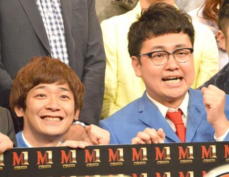 『M-1グランプリ2017』開催会見に出席した銀シャリ (C)ORICON NewS inc.