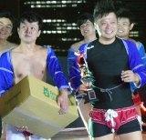最強相撲芸人コンビにの栄冠を手にしたバッドボーイズ (C)ORICON NewS inc.