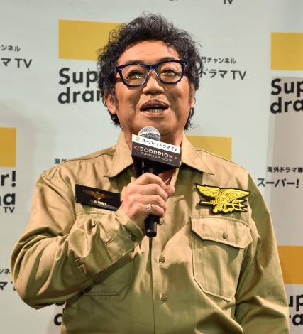 海外ドラマ『SCORPION/スコーピオン シーズン3』の日本初上陸PRイベントに出席したコロッケ (C)ORICON NewS inc.